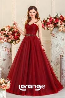Каталог красных розовых свадебных платьев