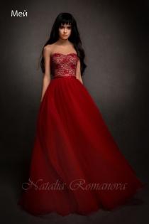 Хочу красно белое свадебное платье