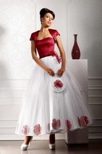 Цветные свадебные платья: 446 фото разноцветных платьев 2015 в Москве