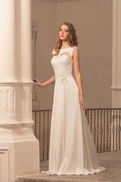 Цвет свадебного платья айвори