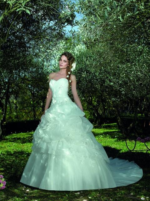 Свадебное платье Буфы зефир, Sharmel, Зефир
