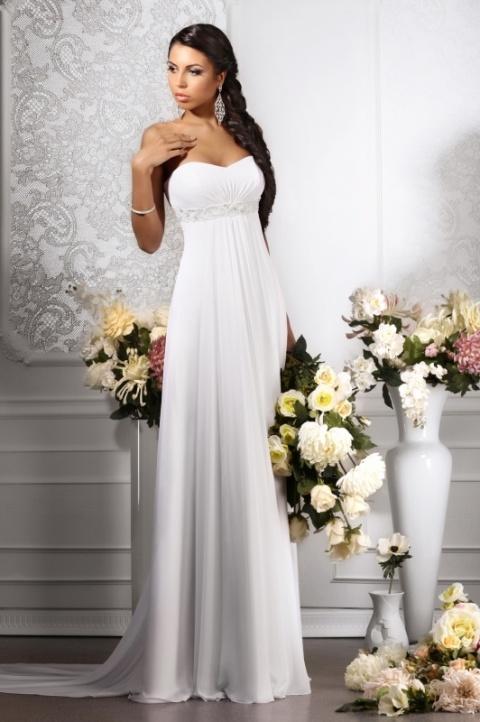 Свадебные платья в греческом стиле: 1878 фото платьев Ампир 2015 в