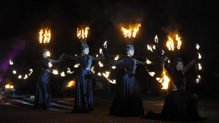 Театр Огня Обертаевой Анастасии