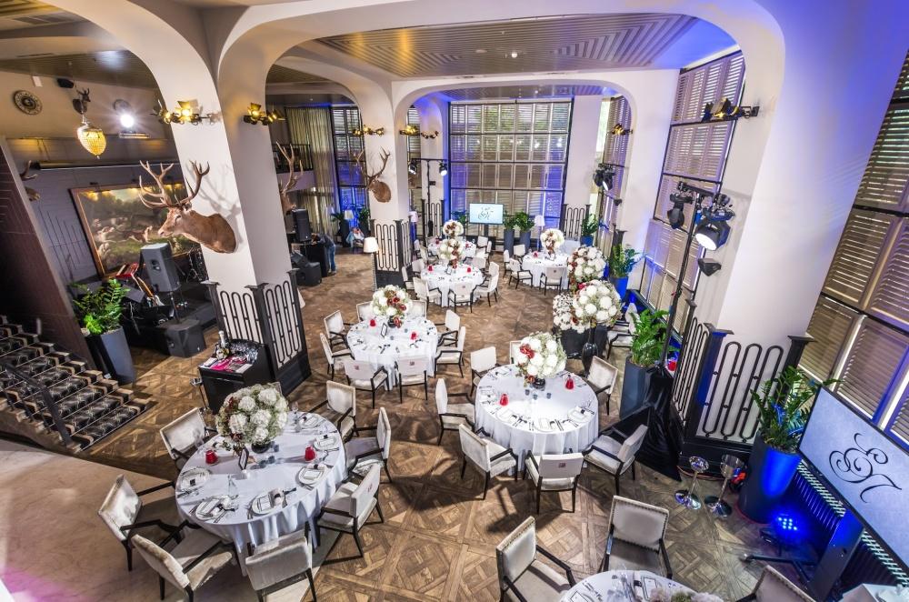Ресторан G.Graf. Зал на 120 человек
