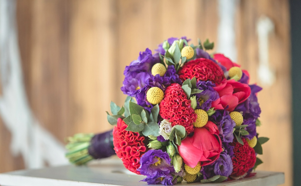 Яркие тона цветов 40