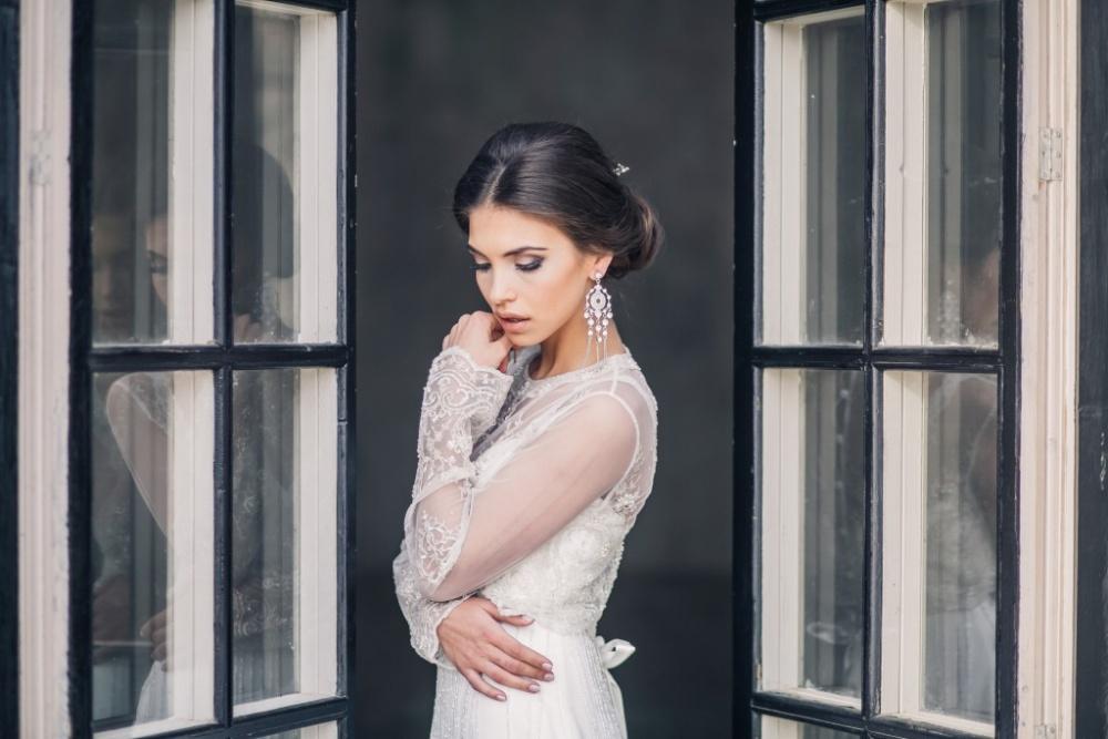 Невеста в образе от студии свадебных стилистов Ирины Цветковой
